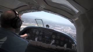Descent and landing Aerostar 601P.