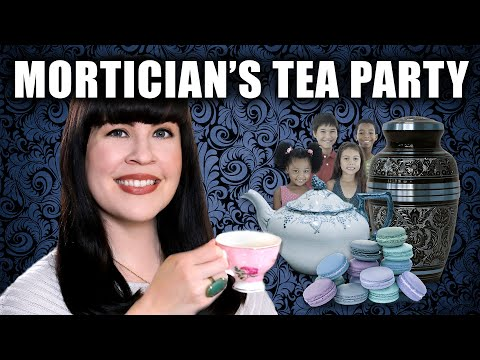 Kid's Tea Party at the Mortuary