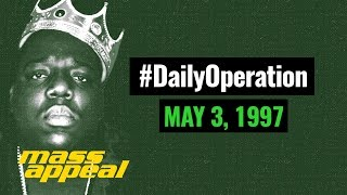 "Daily Operation: The Day Biggie's ""Hypnotize"" Became His First No. 1 Hit (May 3, 1997)"