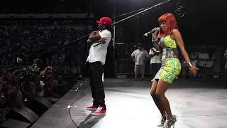 GYPTIAN + NICKI MINAJ- HOLD YAH ( LIVE / SUMMERJAM 2010)