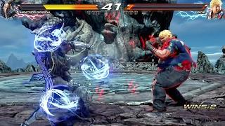 TEKKEN 7 (PS4) Bob Vs Master Raven (1080p 60fps)