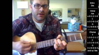 "How to play ""If today was your last day"" by Nickelback on acoustic guitar (Made Easy)"