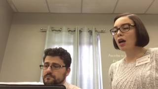 SCA Choir Practice Video: Holy, Holy, Holy - Alto, Melody + Alto
