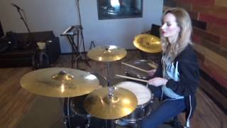 Papa Roach - Not listening (drum cover)