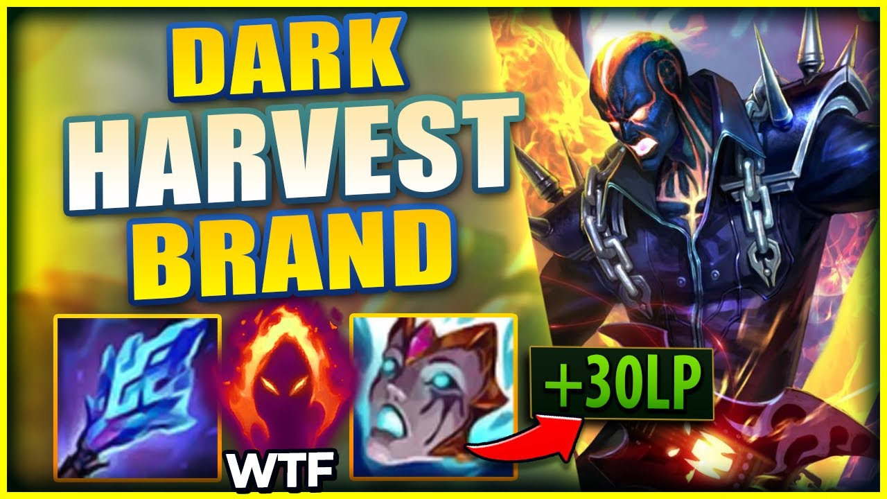 Lohpally - DARK HARVEST BRAND IS THE HIGHEST DAMAGING SUPPORT IN SEASON 11! - League of Legends