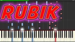 Distrion & Electro Light Rubik [NCS Release] Piano Cover on Synthesia+free Midi file