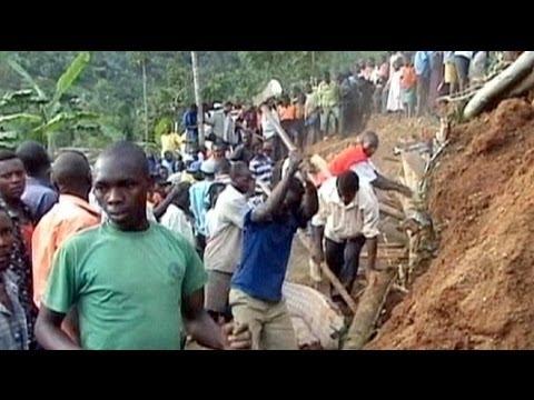 Uganda'da üç köy toprağa gömüldü