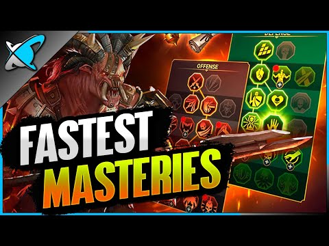 SPEED FARMING MASTERIES | How Fast Could We Get !? | RAID: Shadow Legends
