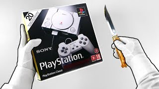 PlayStation Classic Unboxing (PS1 Mini Console)