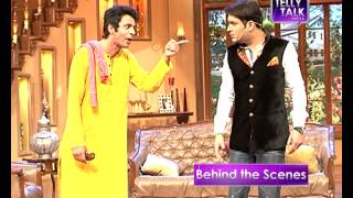 UNCUT Comedy Nights with Kapil : Sunil Grover as Kapil Sharma's servant in the show   Gutthi width=