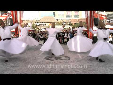 Whirling Dervishes from Turkey!