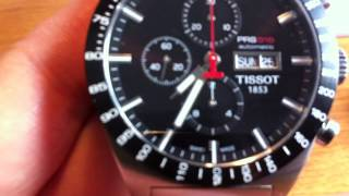 Tissot PRS516 automatic chronograph watch review