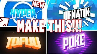 HOW TO MAKE A ROBLOX 2-D INTRO!!! (Make intro like poke, ant, and tofuu!)