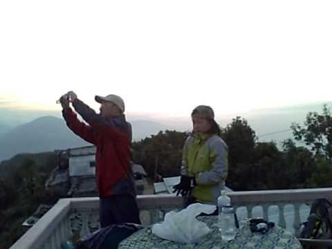Sunrise at Pokhara, Nepal, 2010
