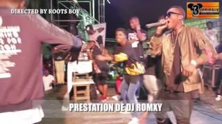 PRESTATION DE DJ ROMXY AU CONCERT LIVE DE DJ LEO AU NPA