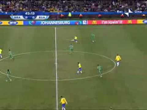 Brasile – Sud Africa 1-0 del 25.06.09 Confederations Cup