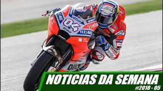 NOTICIAS DA SEMANA 18/03 - MOTO.com.br