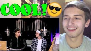 Alex Aiono and William Singe Mashup Fake Love, Broccoli & Caroline REACTION - HPNY!