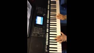 電子琴彈奏「奔放的旋律」