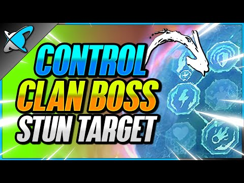 CONTROLLING The Stun Target... With THIS !? | 2-Key UNM Clan Boss Guide | RAID: Shadow Legends