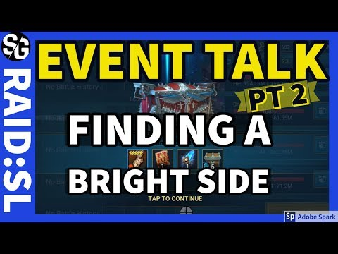 [RAID SHADOW LEGENDS] EVENT BRIGHT SIDE? I'M TRYING!