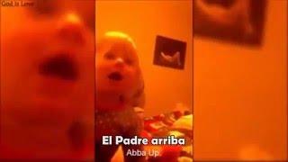 Urgente !!! Bebe diz - O REI ESTÁ VINDO, Aba Pai...