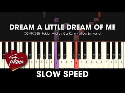Comment jouer Dream a Little Dream of Me au piano