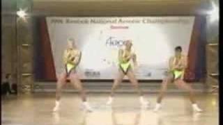 National Aerobics Championship 1992 USA Trio