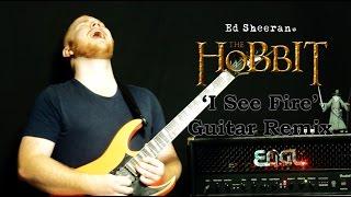 SoftShredding - I See Fire (Ed Sheeran) LEAD GUITAR REMIX