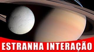 Sons Estranhos Estão Vindo de Interação Entre Saturno e Encelado | AstroPocket News