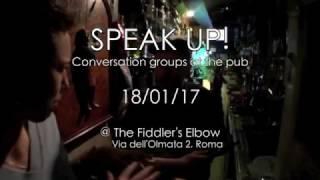 Speak up! - Conversation groups at the pub!