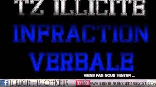 Tz illicite - Infraction Verbale