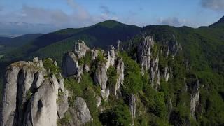 Súľovské skaly Droneview