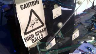 Caution: High Speed Balls - A Ping Pong Ball Launcher for BBC Click