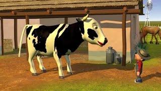 Dona Vaca - A Fazenda do Zenão 1 | O Reino das Crianças