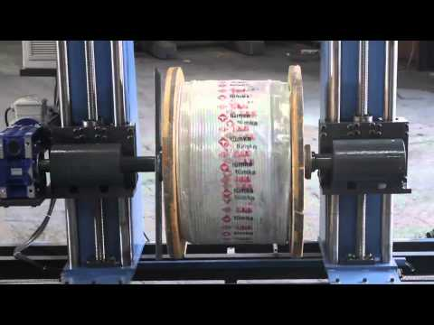 Kablo Sarma Makinası , Cable-winding Machine