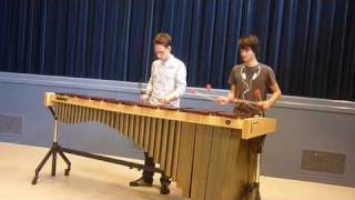 Rolling in the deep, Adele - marimba duet cover