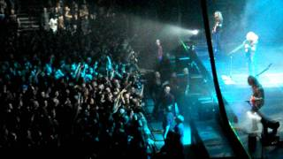 "Megadeth  ""Foreclosure of a Dream"" Live @ the Palace of Auburn Hills, MI Gigantour 2/9/12"