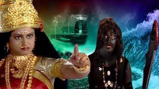 How Demon Kalia Get Threaten By Anger Of Maa Sherawali || English Subtitle Hindi TV Serial ||