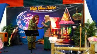 Rindu Pelukan Bonda Live Rumah Terbuka RTM 2017 Nyanyian Wafa Dan Zaiton Sameon.