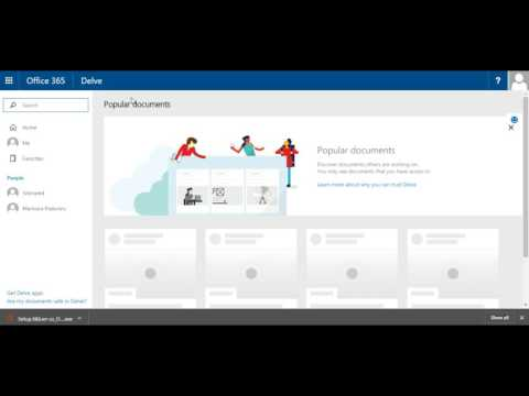 Office 365 - Introducere : Introducere in interfata Office365 si aplicatii