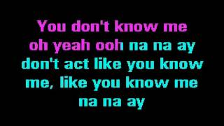 Sunfly Karaoke You Don't Know Me   Jax Jones Feat  Raye