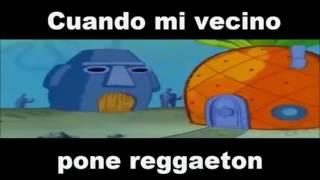 Cuando Mi Vecino Pone reggaeton (Version Metal)