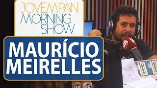 """""""Não me censuro, eu tenho autoformatação"""", diz Maurício Meirelles sobre politicamente correto/MS/JP"""