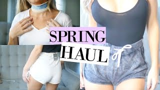 Spring Fashion TRY-ON Haul 2017