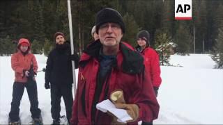 California at Heaviest Snowpack in 22 Years