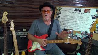 Robert Dean teaching 10 classic rock songs on guitar
