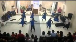 ICB Jovem Engenho Maranguape / Metade da Coreografia da música No Silêncio - Rose Nascimento