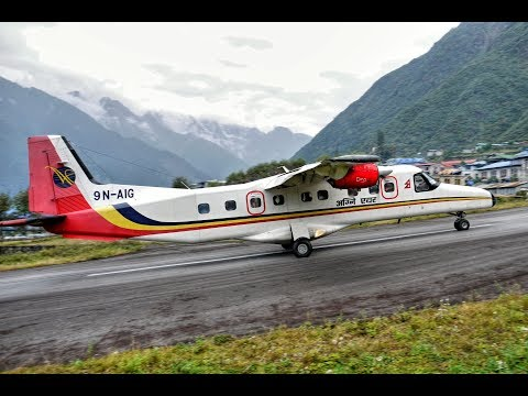 Lukla • most dangerous airports in the world.