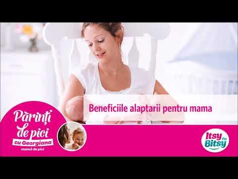 Beneficiile alaptarii pentru mama